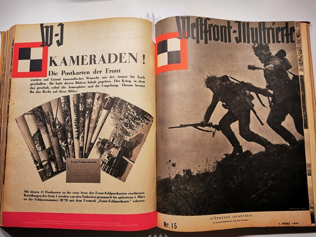 WESTFRONT-ILLUSTRIERTE Nr. 1-17 + Special Edition