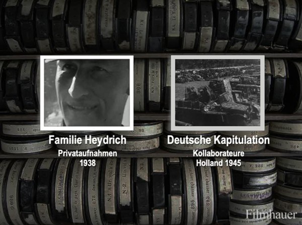 FAMILIA HEYDRICH Privat 1938 - DEUTSCHE KAPITULATION HOLLAND